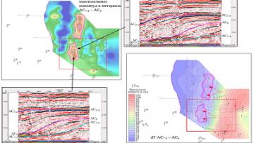 Сейсмогеологическая модель палеозойско-мезозойских отложений Фроловской мегавпадины